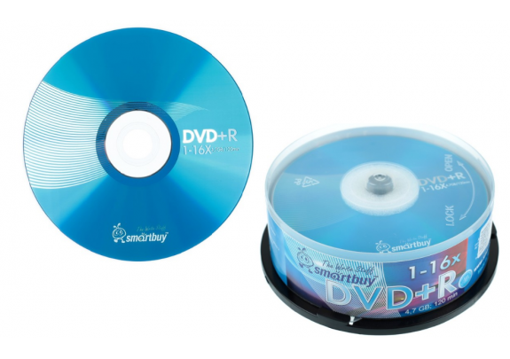 DVD+R Smart Buy 4.7Gb/16x/Cake/10шт
