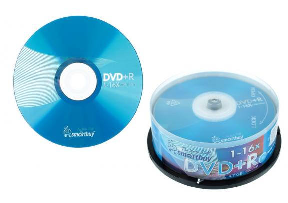 DVD+R Smart Buy 4.7Gb/16x/Cake/10шт