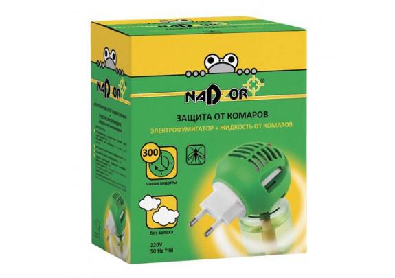 Комплект для уничт комаров NADZOR +ун электрофум