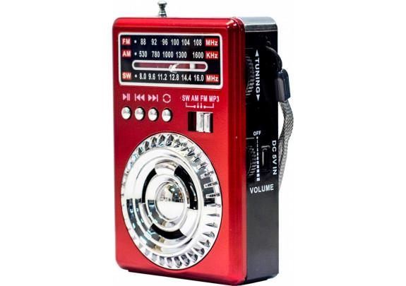 Радиоприемник WAXIBA XB-464URT красный