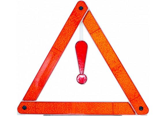 Знак аварийной остановки/светоотраж/пластик/бокс