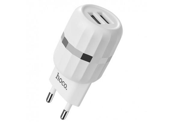 Адаптер сетевой Hoco C41A 2USB 2,4A