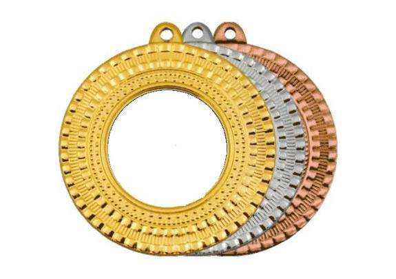 Медаль M1 Серебро/50мм/вставка 25мм