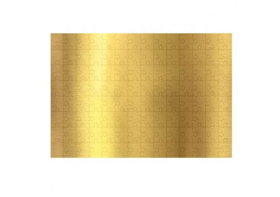 Пазлы А4 золото/120 элементов