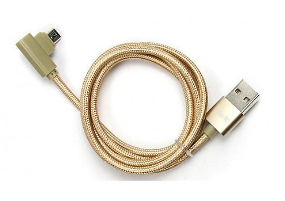 Дата-кабель HAVIT HV-CB8603 micro USB  золото/1м
