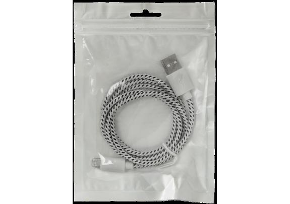 Дата-кабель DEFENDER ACH01-03T iPhone 5-8/1м