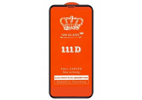 Защитное стекло FUMIKO iPhone 5/5 3D черн/пакет