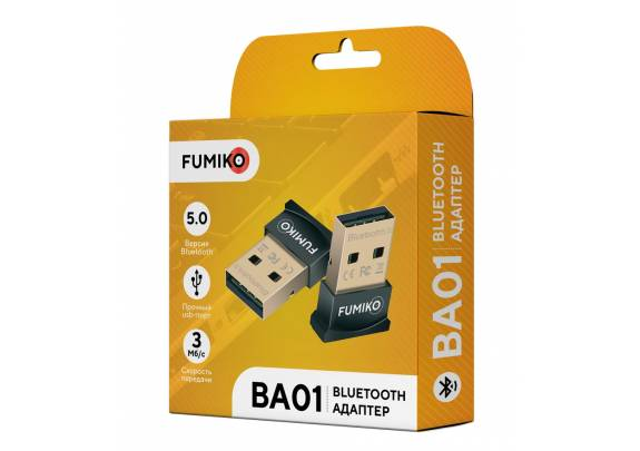 Адаптер FUMIKO BA01 черный