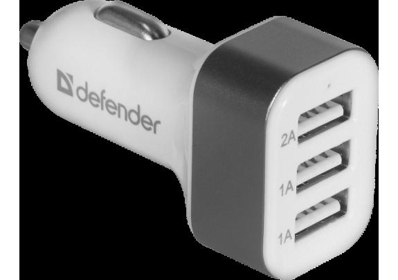 Адаптер DEFENDER UCA-03 3USB 5V/4А