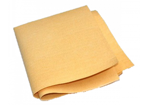 Салфетка д/сушки /иск.замша/40*55 см/желтая
