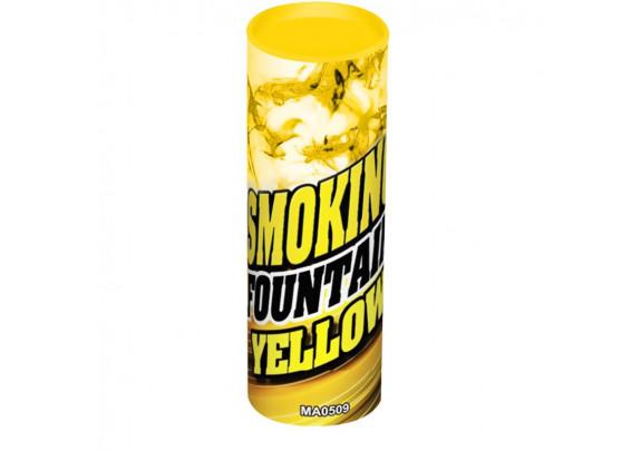 Дым жёлтый 115мм 5шт/уп