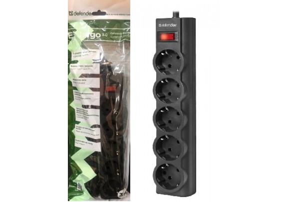 Сетевой фильтр Defender 3м 5гн 10А/45