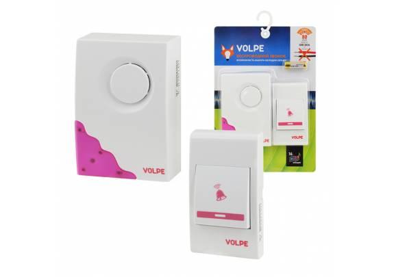 Звонок беспроводной Volpe UDB-Q026 W-R1T1-16S-80M