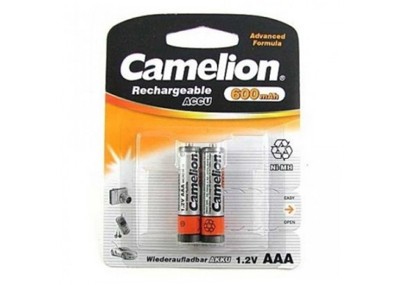 Аккумулятор CAMELION R03 NiMh 600mAh BP2