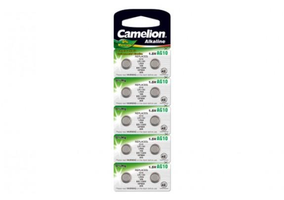 CAMELION AG 10 (389)  Mercury Free /10/100/3600