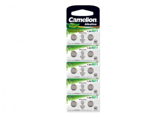 CAMELION AG 11(361)  Mercury Free     /10
