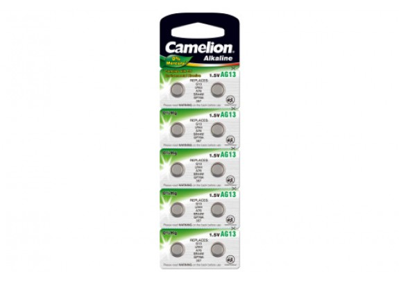 CAMELION AG 13 (357) Mercury Free /10/100/3600