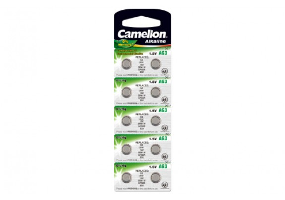 CAMELION AG 3 (392) Mercury Free    /10