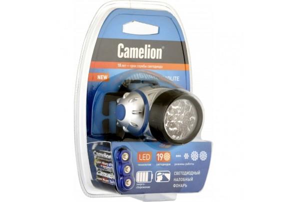 Фонарь CAMELION LED5313 (19LED,3xLR03,налоб)