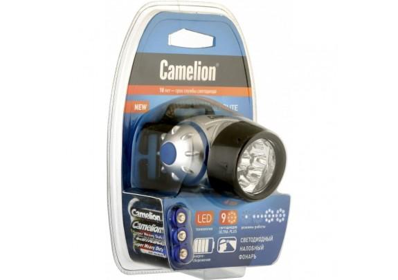 Фонарь CAMELION LED5317-9 (9LED,3xLR03,налоб)