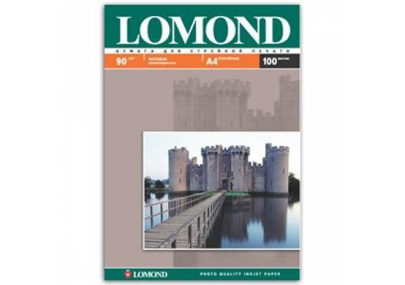 Lomond A4  90г/м2  100л матовая  0102001