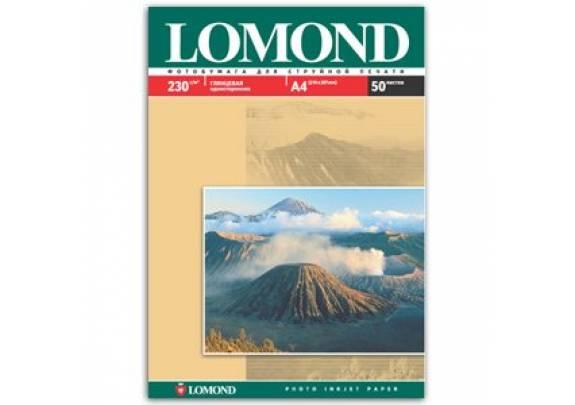 Lomond A4 230г/м2  50л глянцевая  0102022