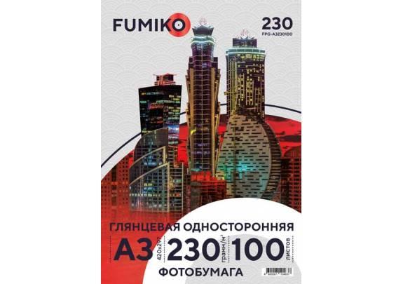 FUMIKO A3 230г/м2  100л глянцевая