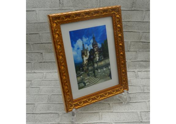 фоторамка Багет F 30x40  Яблоневый сад/золото