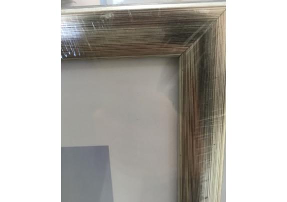 пластик 50x90  723  серебро металлик
