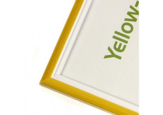 фоторамка Багет Yellow 10x15  283-4 жёлтый