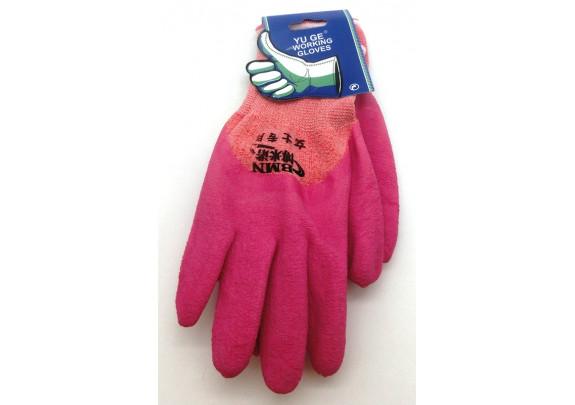 Перчатки PD006 трикотаж/прорезиненый/размер L
