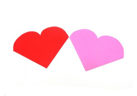 Салфетки 35252-13 двухслойные/20шт/Сердце