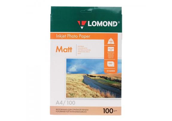 Lomond A4x2 100г/м2  100л матовая  0102002