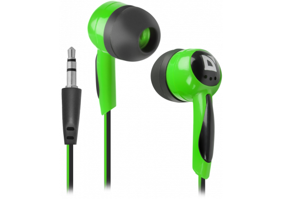Наушники DEFENDER 604 черно-зеленый