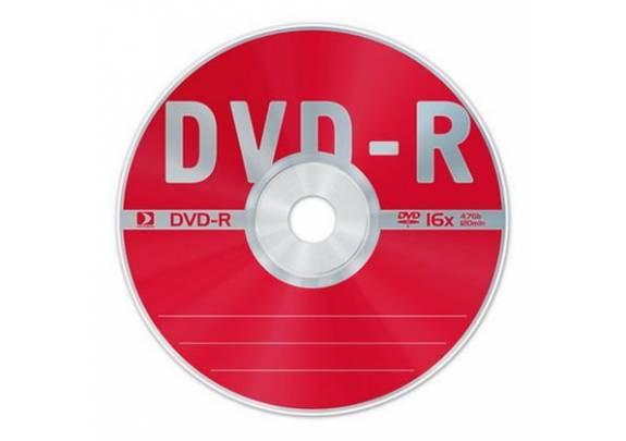 DVD-R Data Standart 4.7Gb/16x/Cake/25шт