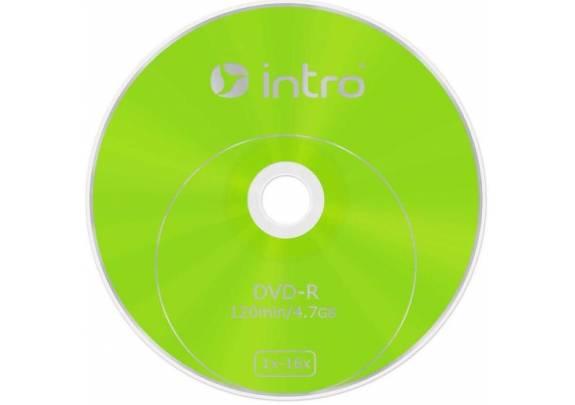 диск DVD-R Intro 4.7Gb. /16x/10шт