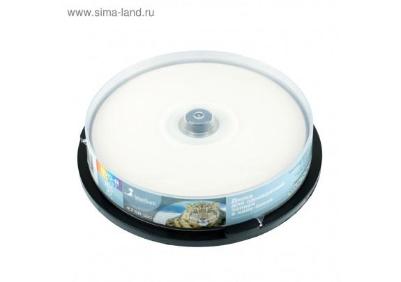 DVD-R Smart Track 4.7Gb/16x Inkjet/Cake/10шт