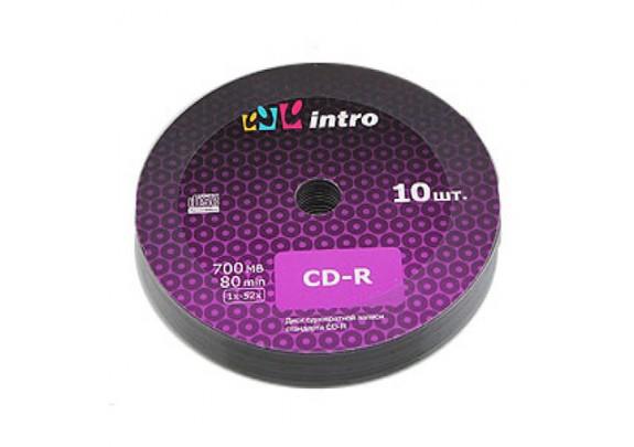 CD-R Intro 700 Mb/52x/Bl/Print/100шт