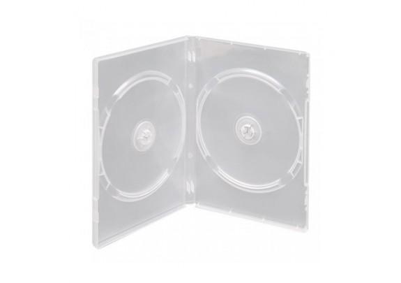 Коробка CD на 2 диска прозрачный
