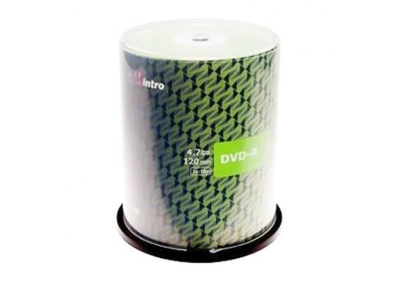 диск DVD-R Intro 4.7Gb/16x/конверт/1шт