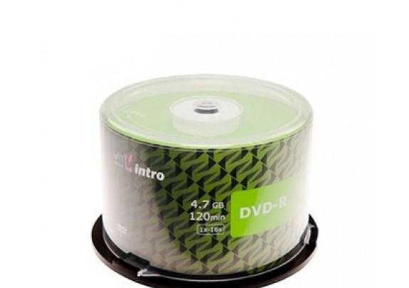 DVD+R Intro 4.7Gb/16x/конверт/1шт