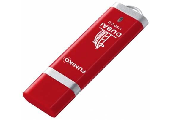 Флэш-драйв FUMIKO 16GB DUBAI  Red
