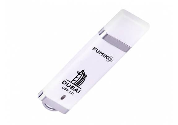 Флэш-драйв FUMIKO 16GB DUBAI  White