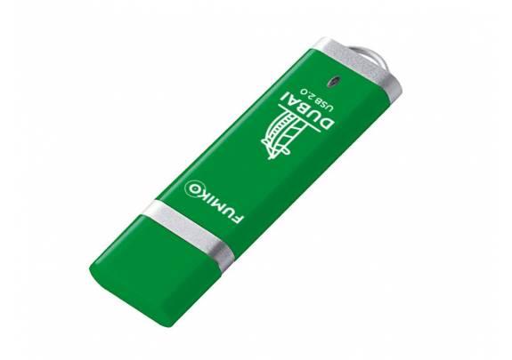 Флэш-драйв FUMIKO 16GB DUBAI  Green