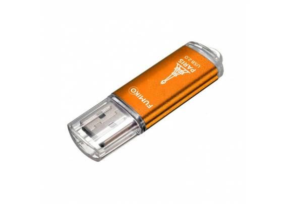Флэш-драйв FUMIKO PARIS 16Gb Orange