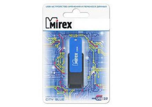 Флэш-драйв Mirex 64GB  CITY синий