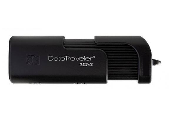 Флэш-драйв Kingston 16GB  Data Traveler 104 черн