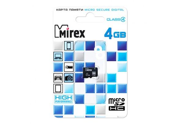 Карта памяти SDmicro 16Gb CL4 Mirex