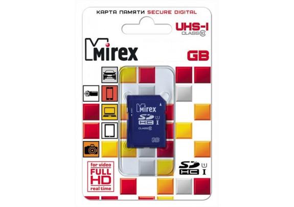 Карта памяти SDHC 8GB СL10 Mirex