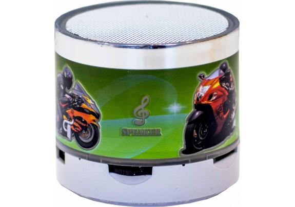 Акустическая система S10 LED Bluetooth/microSD/mot